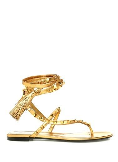 Valentino Garavani Sandalet Altın
